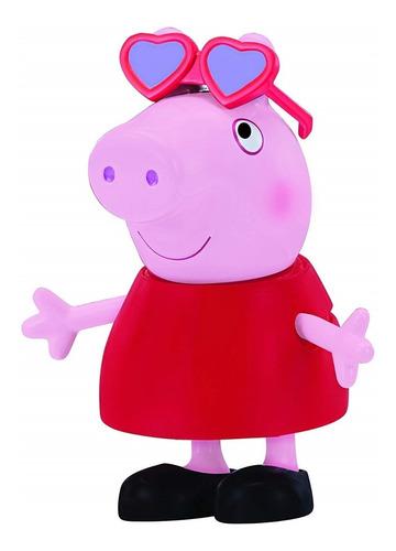 peppa pig muñeca 13cm vestir accesorios sonido cerdita cuota