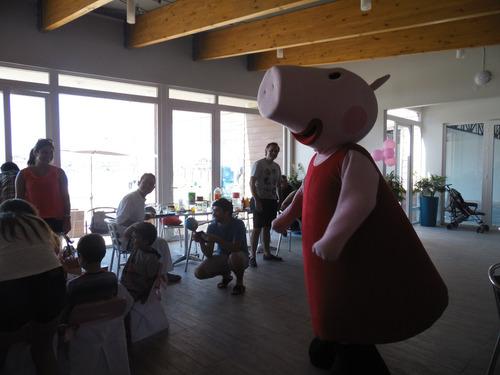 peppa pig, paw patrol animación cumpleaños decoración
