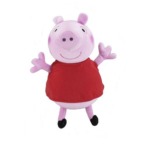 peppa pig pelúcia 30cms fala e canta em inglês fisher price
