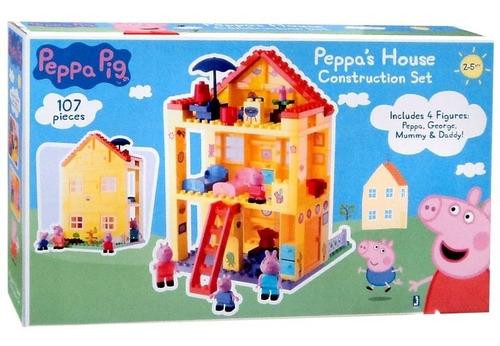 peppa pig peppa's house construction set