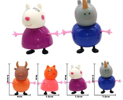 peppa pig personagens