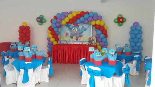 peppa pig, pj masks, masha y el oso cumpleaños decoración