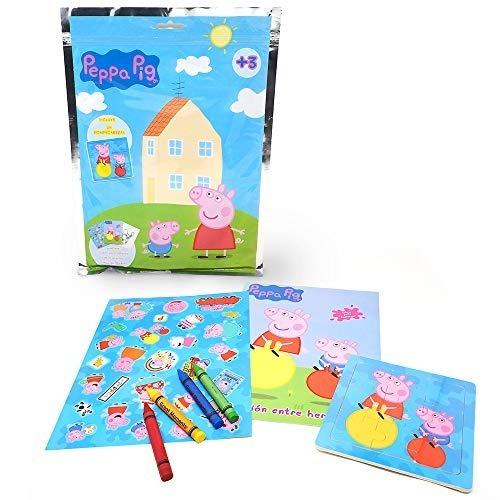 Peppa Pig Play Pack Para Colorear Best6138 Pp Niños