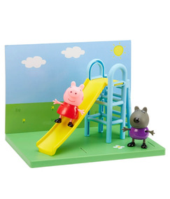Pig Tobogán Plaza Playground Peppa Daniel HamacaGeorge WIbeEDH29Y