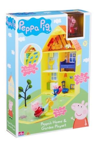 peppa pig - playhouse hogar y jardín