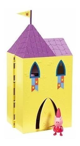 peppa pig princesa torre secreta castillo  pepa la cerdita