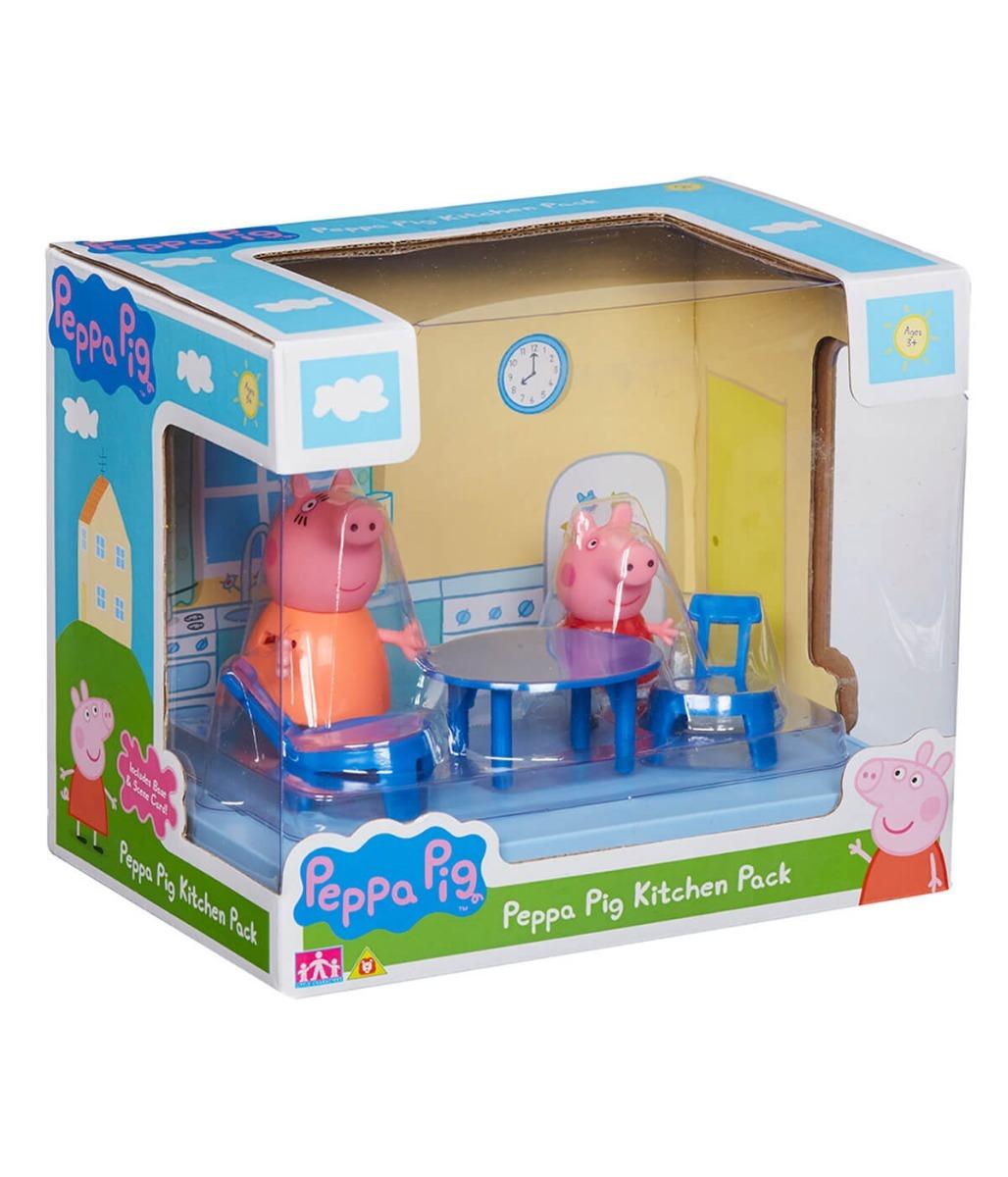 Peppa Pig Set Comedor Kitchen Set Original