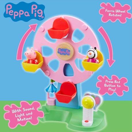 peppa pig vuelta al mundo 2 fig luz sonido mov 06709 bigshop