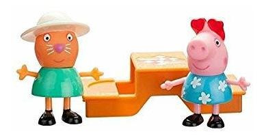 peppa pig y candy cat picnic time playset