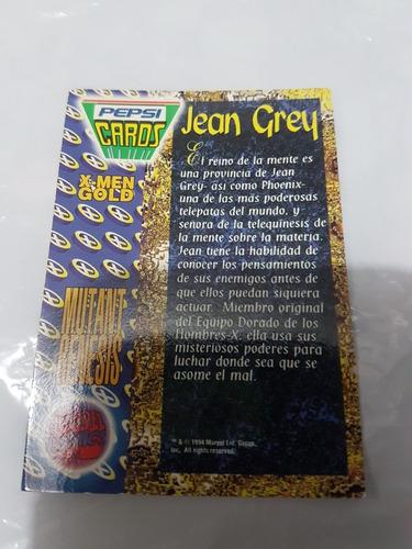 pepsi card jean grey