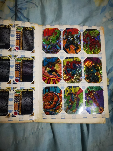 pepsi cards 1995 en buen estado, solo falta 1 la de la lista