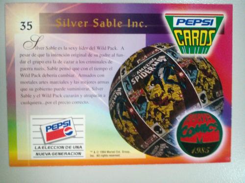pepsi cards #35 silver sable inc