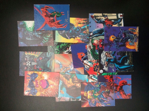 pepsi  cards marvel colecionable 1995