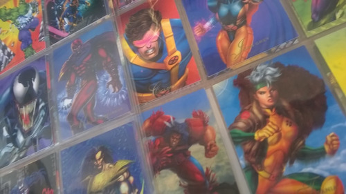 pepsi cards marvel1994 92 regulares 2 hologramas 8 prismas