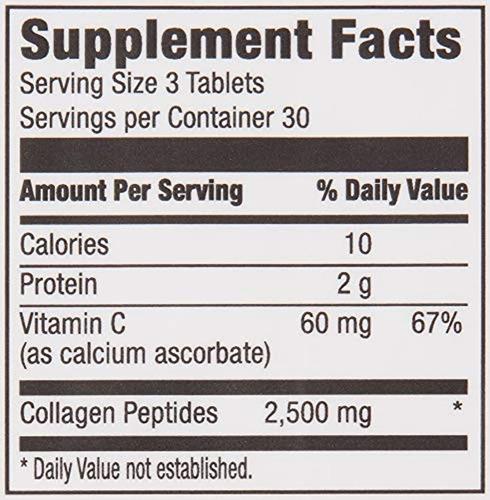 péptidos de colágeno vitamina c 90 pastillas