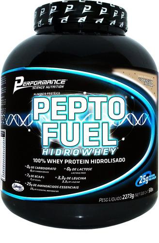 pepto fuel 100% hidrolisado - 2,273kg - performance