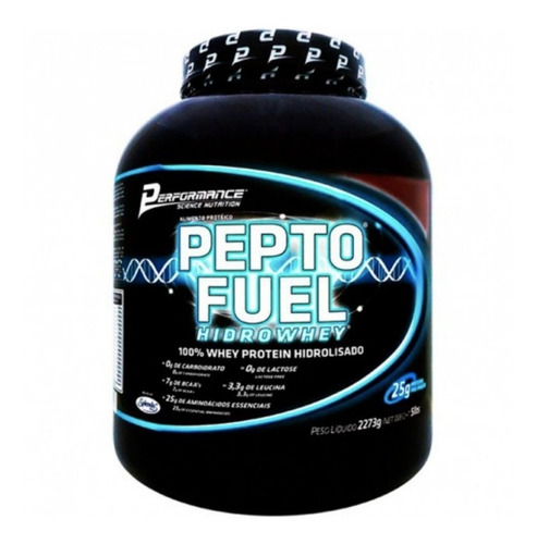pepto fuel hidrolisado 2,273kg - performance (cookies&cream)