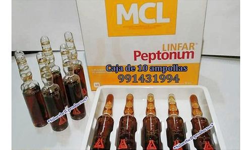 peptonas linfar ampollas argentinas pregunta obligatoria
