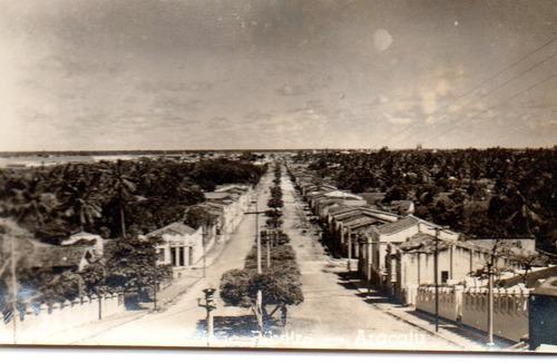 pequena foto av. joão ribeiro aracaju sergipe anos 1950