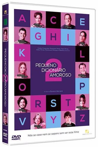 pequeno dicionário amoroso 2 - dvd - daniel dantas