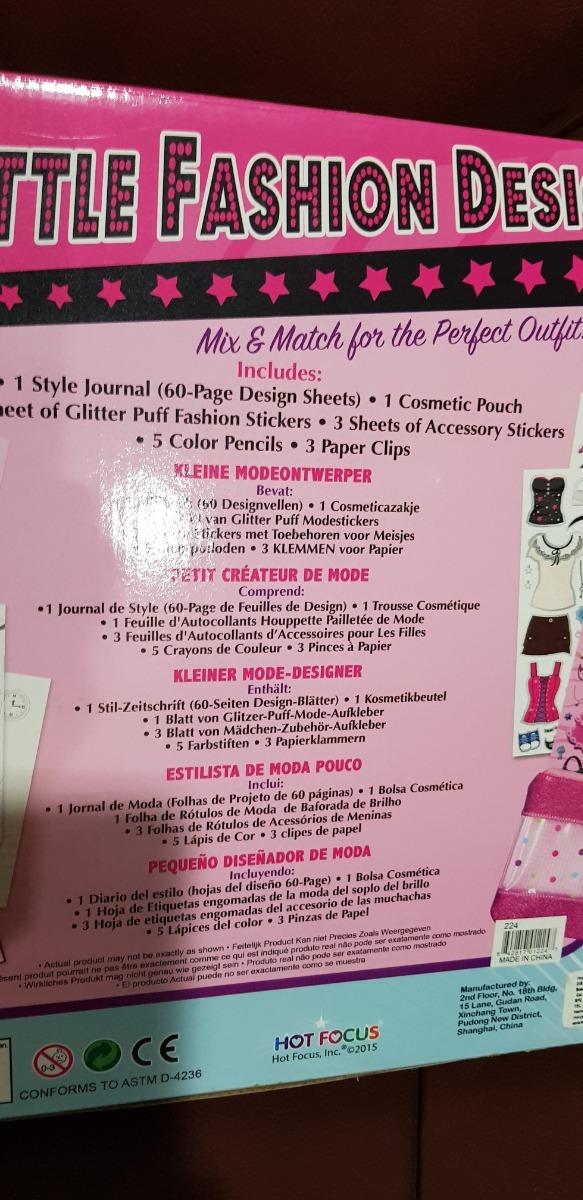 Pequeno Disenador De Modas Little Fashion Designer 800 00 En Mercado Libre