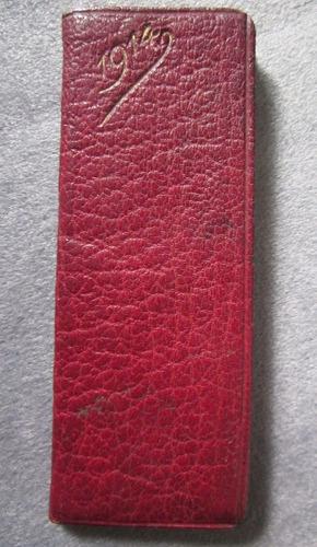 pequeño libro antiguo eclesiástico año 1914
