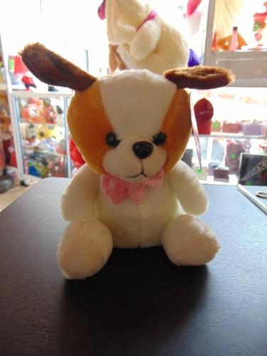 pequeno peluche perro de 35 cm con registradora de voz