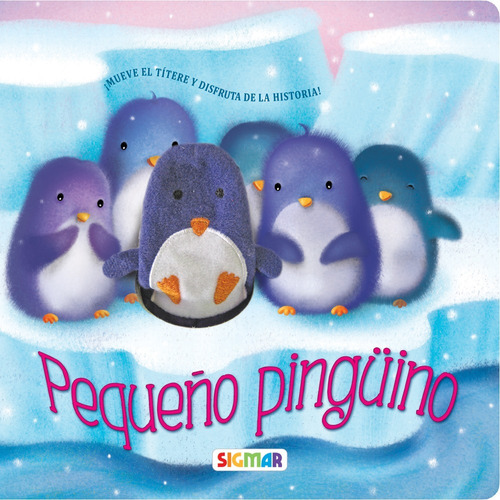 pequeño pingüino colección titiridedos