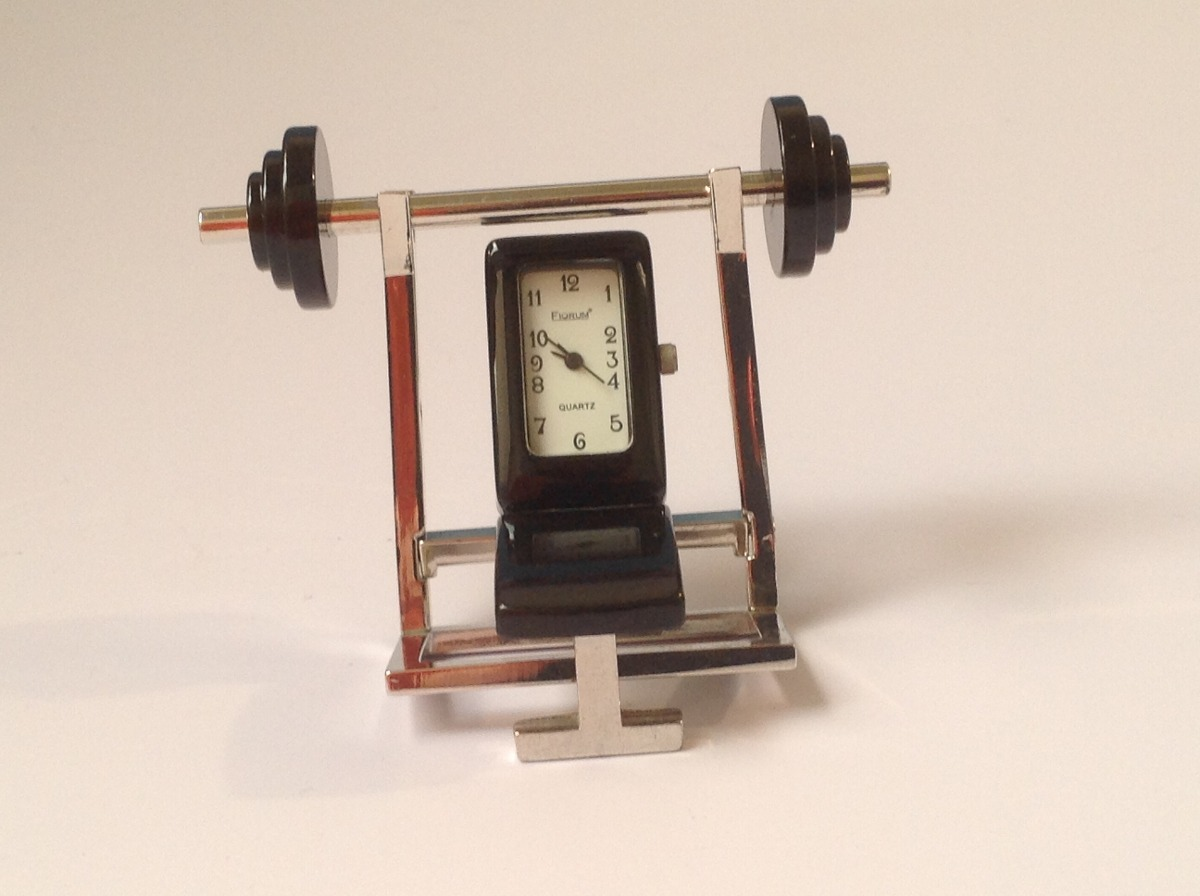 Peque o reloj de mesa fiorum cuartz banco ejercicio y for Reloj digital de mesa