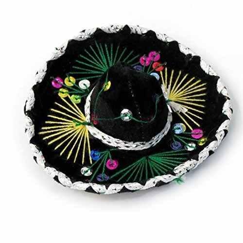 pequeño sombrero de mariachi de terciopelo