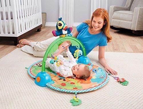 pequeño tikes bebe buenas vibraciones deluxe activity gym