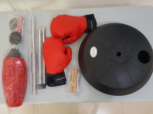 pera de boxeo artes marcial y guantes   punching ball