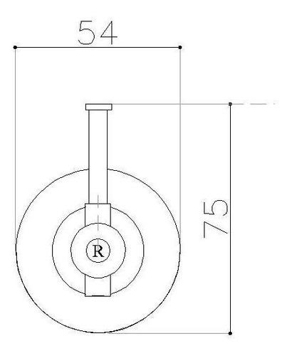 percha doble robinet studio cobre brillante 6 cuotas