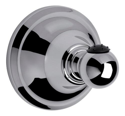 percha fv newport 166/b2 metálica cromada baño