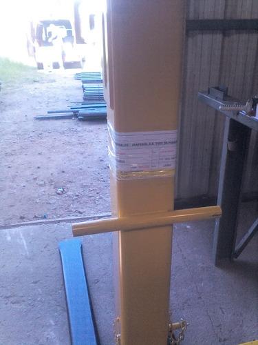 percha porta pallets 2 ton (financiada 4 cheques)
