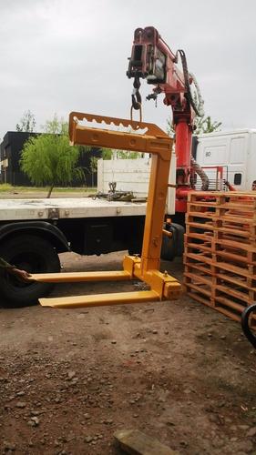 percha porta pallets 5 ton (financiada 4 cheques)