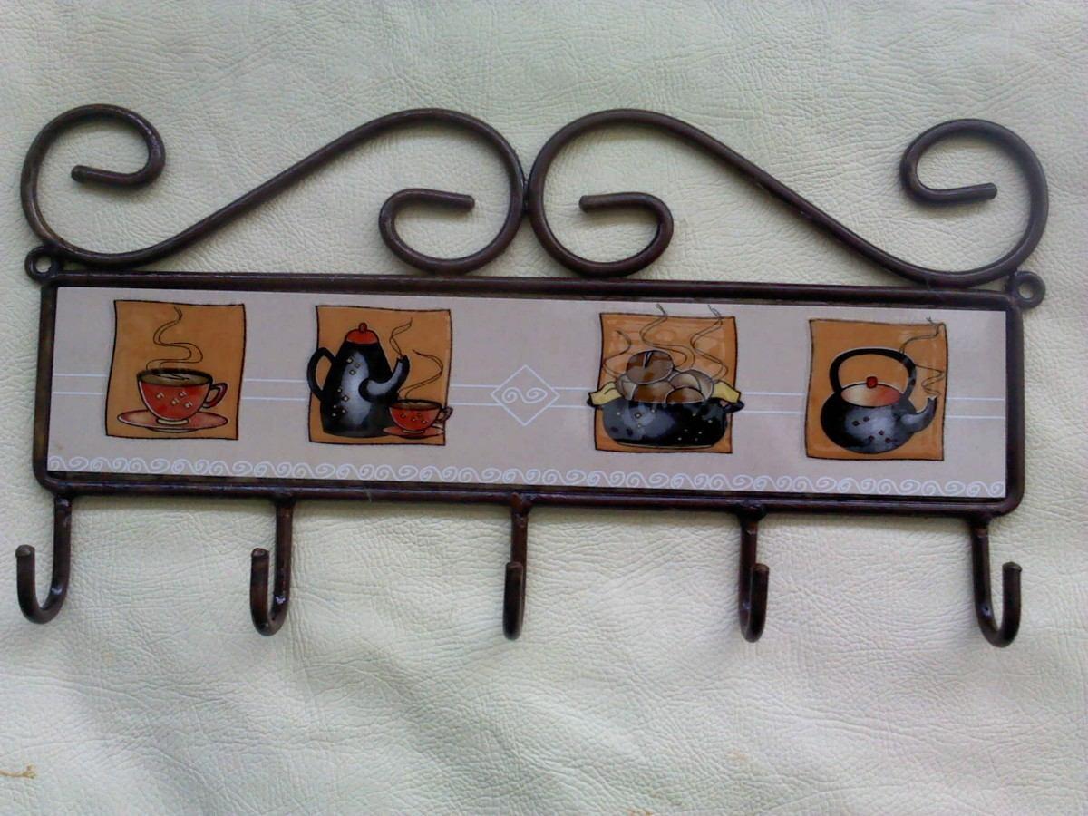 Percha porta utensilios de cocina en mercado libre for Colgador utensilios cocina