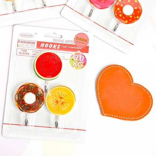 percha x 3 gancho adhesivo circular precio x 25 packs
