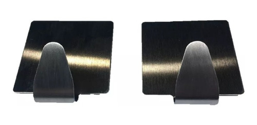 percha x2 porta gancho inoxidable 49 mm adhesiva suprabond