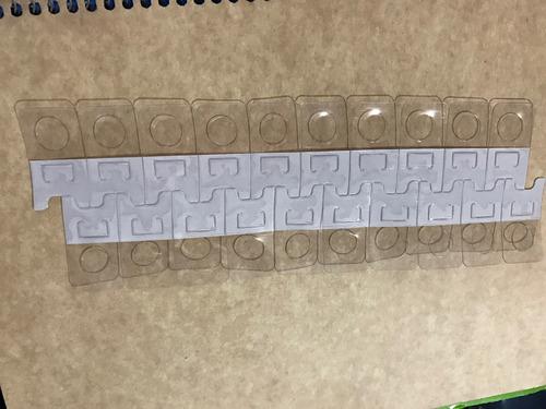 perchas adhesivas colgador en tiras impulso planilla de 20