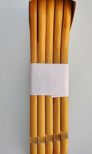perchas de madera con pinzas - calidad a - 10 unidades