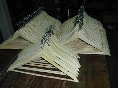 perchas de madera oferta!!! excelente calidad