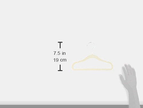 perchas ganchos terciopelo para bebe nina niño 30 pz 28 cm