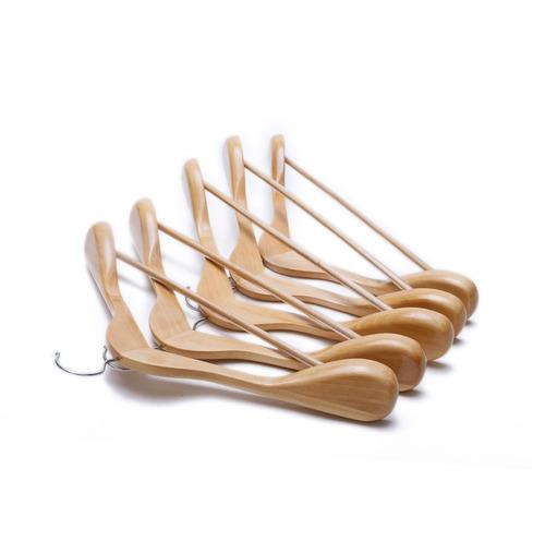 perchas gugertree perchas (de madera con el hombro extra-wid