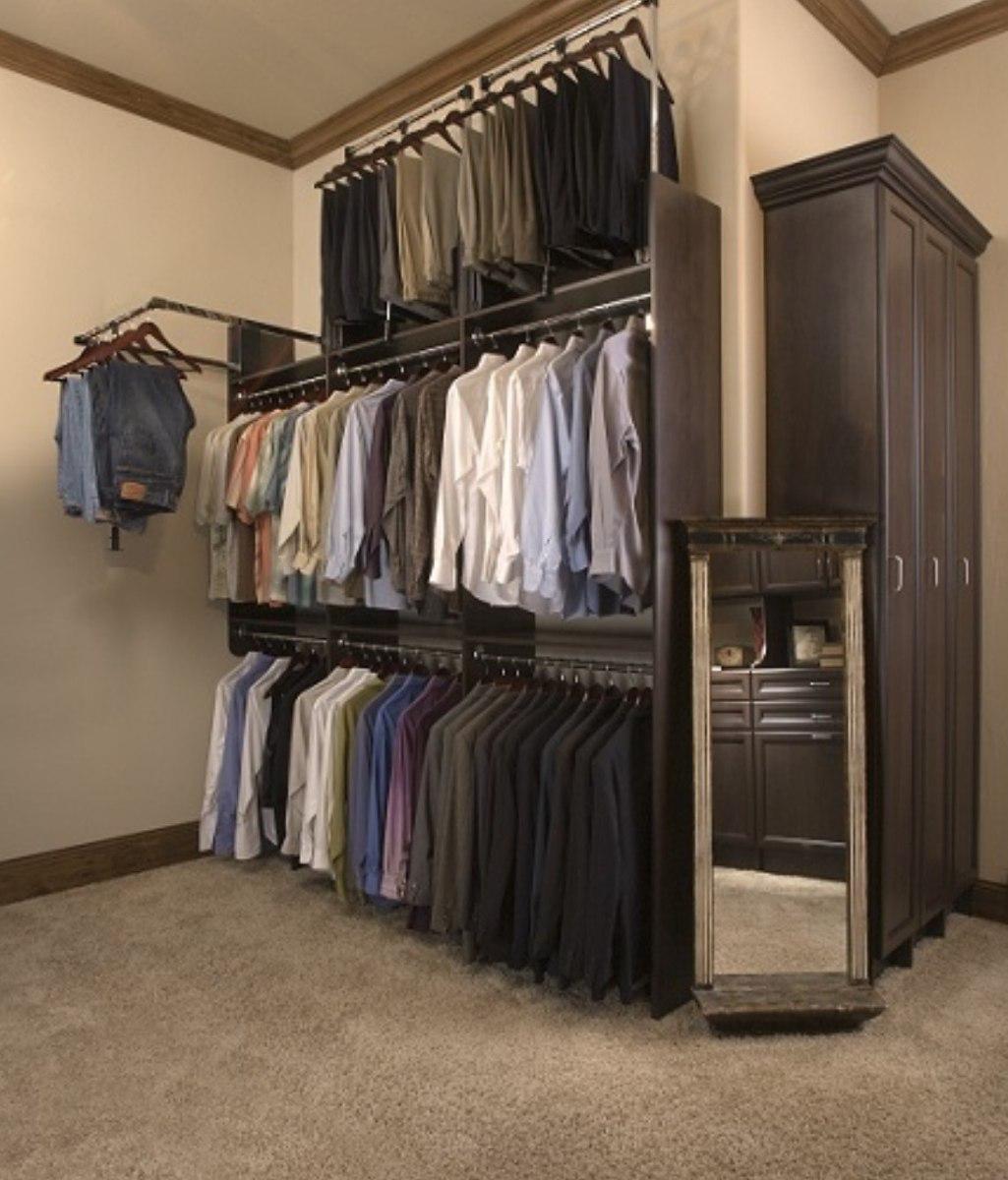Perchero Abatible Para Closets Armarios U Otra Area 1 250 00