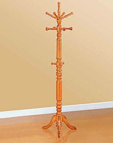 perchero coaster home furnishings de madera maciza color