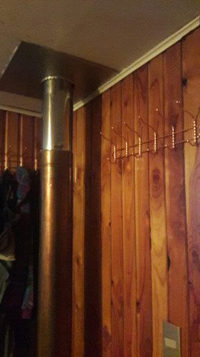 perchero cobre 50cm elegante 12 ganchos