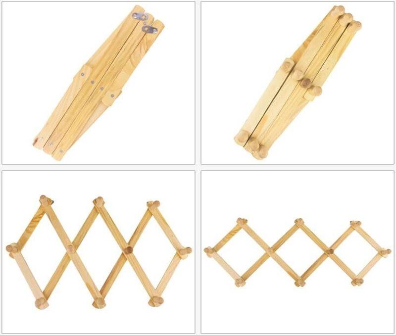 Perchero de madera para pared plegable obsequio 24 - Perchero madera pared ...