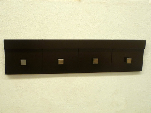 perchero de pared minimalista, muebles el angel