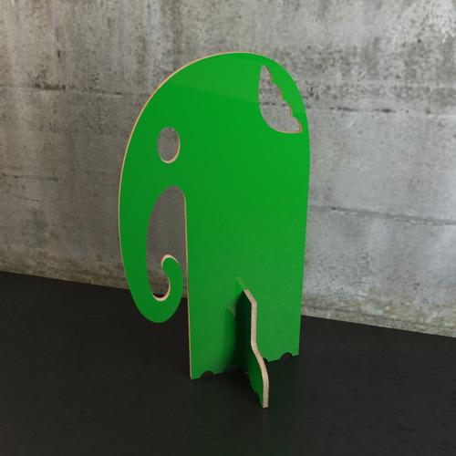 perchero elefante codigo g (archivos para cortar y editar)